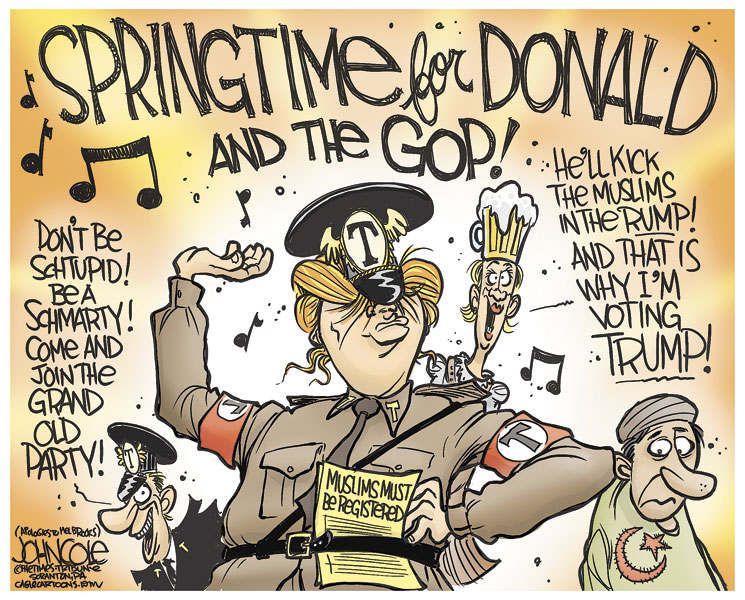 Image result for nazi and gop cartoons