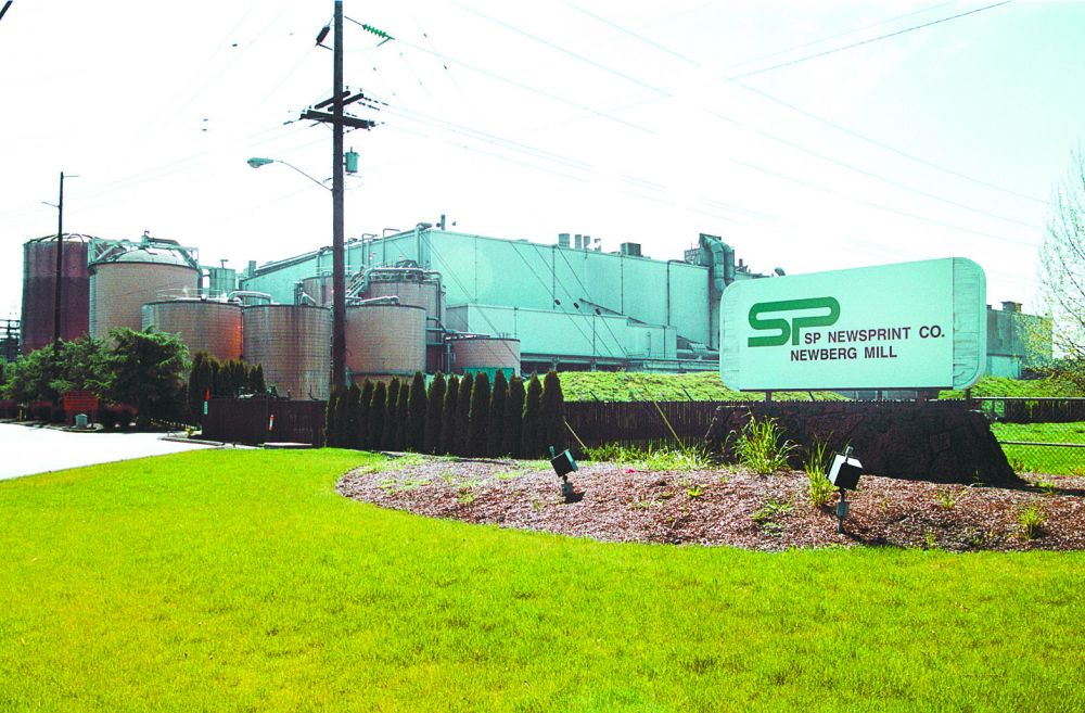 News-Register file photo##Newberg paper mill WestRock, previously called SP Newsprint, will close permanently, corporation officials announced.