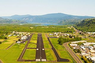 Image: Port of Portland##A pilot's-eye view of the Troutdale Airport as it appears today.