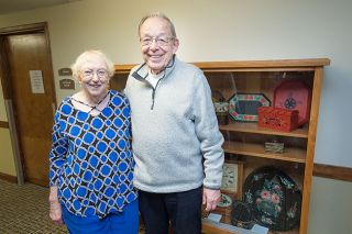 Marcus Larson/News-Register ## Muriel and Miles Dresser met in McMinnville, graduated from Linfield College, and returned a few years ago after retiring. They said they love living at Hillside Retirement Community.