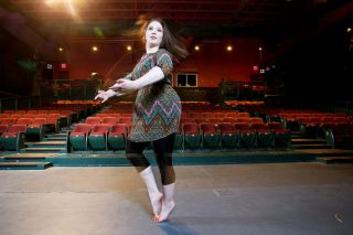 Rockne Roll / News-Register##Lydia Dolence has been dancing since she was 5 and now choreographs stage musicals, as well as performing in them.