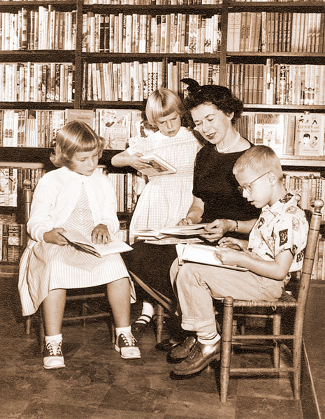 Courtesy Cleary Family Archives##Beverly Cleary worked as a children's librarian before starting to write kids' books herself.