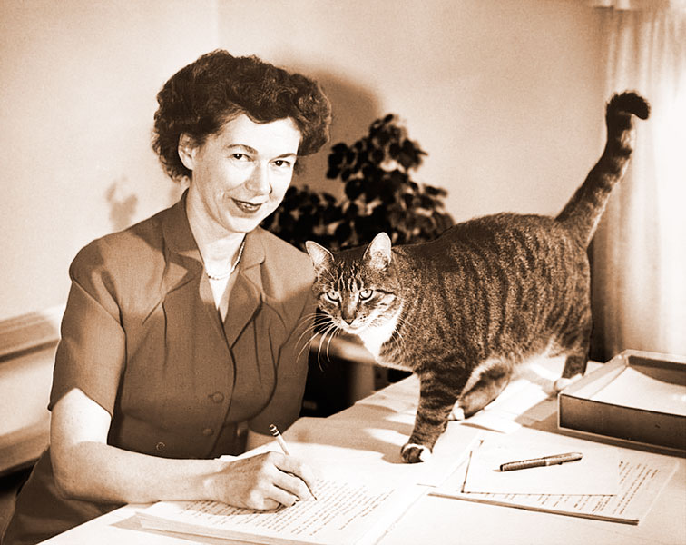 "Courtesy Cleary Family Archives##A native of Yamhill who was born in McMinnville, Beverly Cleary is known for books such as ""Ramona Quimby, Age 8"" and ""The Mouse on the Motorcycle,"" most of them set in Portland. The writer, now retired, turns 100 this month."