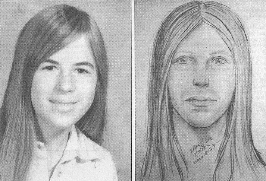 Photos courtesy Telegram-Tribune##Cheryl Manning was 16 when she was found murdered in June 1978 in San Luis Obispo.