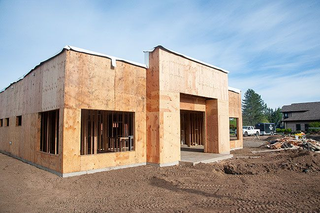 Rusty Rae/News-Register ## Construction is progressing on a new urgent care clinic at 1755 S.W. Baker St. It is one of several commercial projects underway in McMinnville.