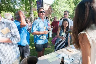 News-Register file photos##These are a few of Karl Klooster s favorite things: Dragging the Gut, the UFO Festival and the International Pinot Noir Celebration.