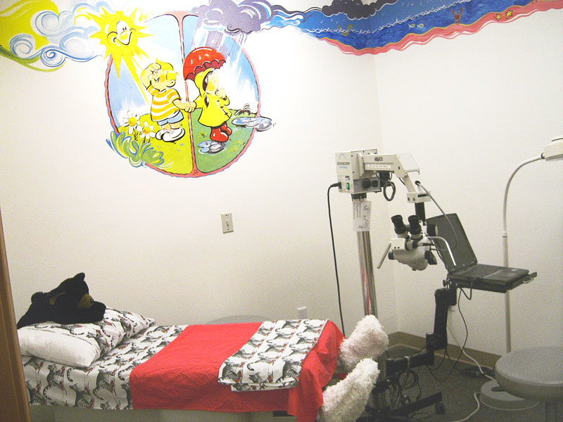 Submitted photo##Color brightens the children's exam