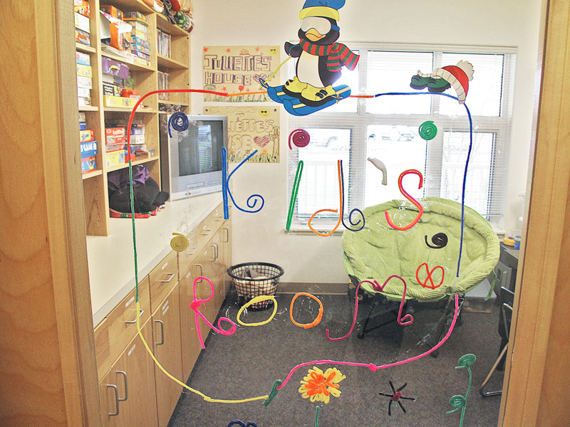 Submitted photo##The Kid's Room at Juliette's House offers toys, games, puzzles. Families receive compassionate assessment, treatment and support from staff there.