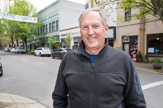 "Marcus Larson/News-Register##Doug Hurl likes to stay involved, currently serving as president of McMinnville Industrial Promotions. Why? ""This is as good a community as it gets."""