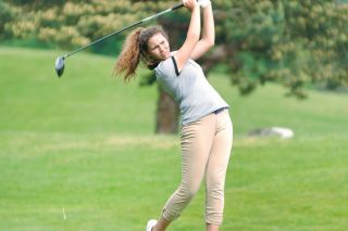 Robert Husseman/News-Register##McMinnville senior Kaela Worden finished ninth overall (99-89-192) at the Class 6A Greater Valley Conference Girls Golf Championships, held at Trysting Tree Golf Club in Corvallis Monday and Tuesday.