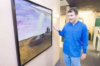 Marcus Larson/News-Register##Dentist Adam