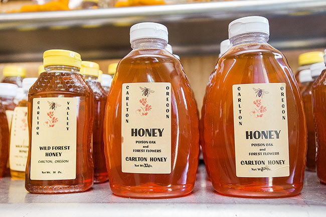 Marcus Larson / News-Register##Carlton Valley Honey.
