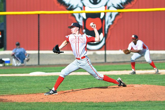 News-Register fileDavid Brosius struck out 50 batters in 39 1/3 innings pitched for McMinnville in 2013.