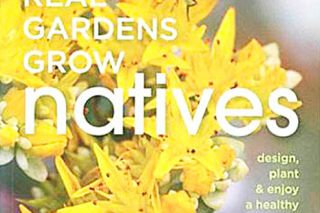 "Portland author Eileen Stark will be at the library from 10 am to noon to sign her book, ""Real Gardens Grow Natives."""