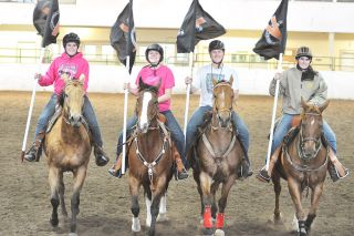 Robert Husseman/News-RegisterThe Yamhill-Carlton equestrian team finished 12th in the large-team division at the OHSET State Championships, held Maqy 15-18, in Redmond.