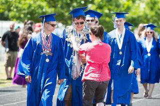 Marcus Larson/News-Register##As graduate Erik
