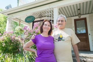 Marcus Larson/News-Register##June and Jack Coe gave new life to their downtown 1892 Dutch