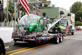 Rockne Roll / News-Register##Vehicles of all types are featured in the Sheridan Days Parade.