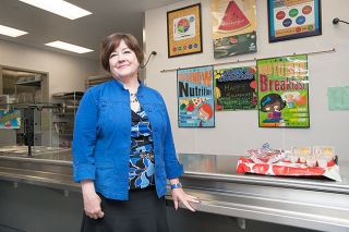 Marcus Larson/News-RegisterCindi Hiatt-Henry has been named both Oregon and regional nutrition service director of the year. Her goal: To feed all the children.