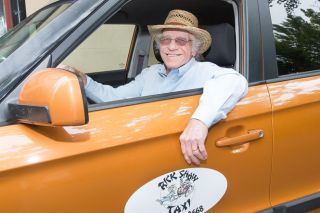 Marcus Larson / News-Register##Much has change in the past decade, but Rick Shaw Taxi is still going.