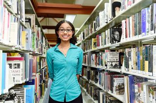 Marcus Larson / News-Register##Before she starts college, Renee Myers is spending the summer relaxing and reading. She enjoys nonfiction and novels, including suspense stories.