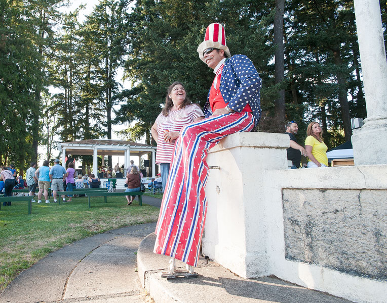 News-Register file photo##After marching in last