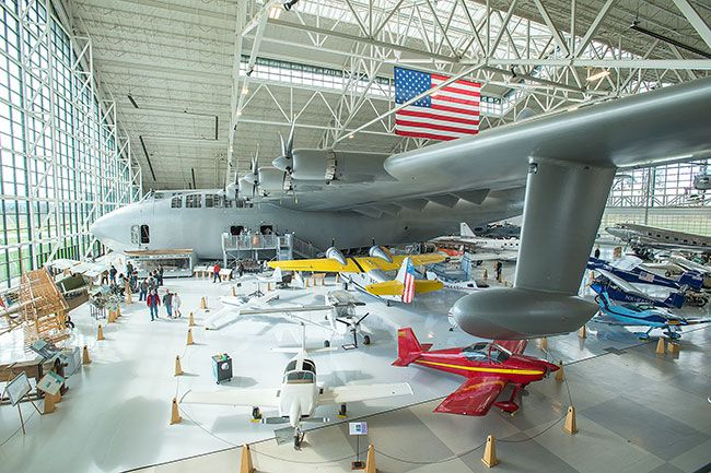 News-Register file photo##The Evergreen Aviation Museum.