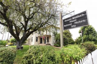 News-Register file photo##The Hoover-Minthorn House Museum in Newberg.