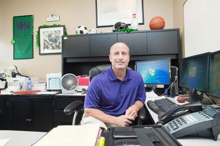 Marcus Larson / News-Register##Sean Burke will serve as McMinnville High School principal for the year.