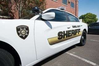 Marcus Larson / News-Register##A new paint job on patrol cars is one of many cosmetic changes implemented this year at the Yamhill County Sheriff's Office.
