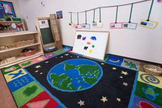 Marcus Larson/News-Register##Nature elements are scattered throughout A Family Place classrooms, which employees say reduces stress.