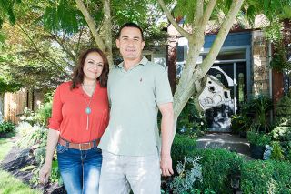 Marcus Larson / News-Register##Monica Macias and Carlos Romero especially