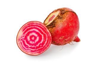 Can Stock Photo##Organic chiogga beets.