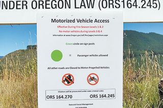 Photo courtesy Oregon Department of Fish and Wildlife##