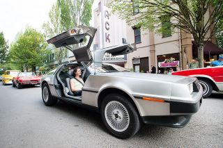 News-Register file photoBrandon Payne's 1981 Delorean won the People's Choice Award at last year's Dragging the Gut Festival. The annual event draws thousands of car enthusiasts to Third Street.