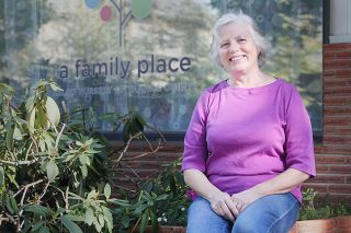 Rockne Roll / News-Register##Delphia Perezselsky is a home visitor for A Family Place in McMinnville. She works with new parents facing challenges such as substance abuse, poverty and depression.