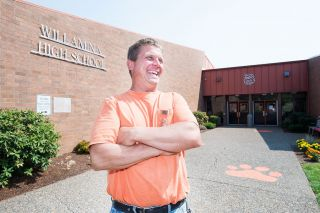 Marcus Larson / News-Register##Craig Johnson is in his first year as Willamina School District s grounds and maintenance director.
