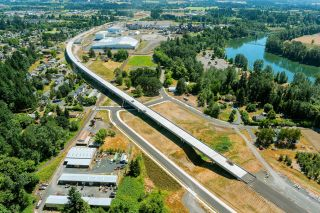 Submitted photo##A section of the Newberg bypass, which will be dedicated in a ceremony on Monday.