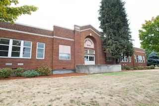 Marcus Larson/News-Register##The former Cook Elementary School building will soon become the headquarters of the McMinnville School District.