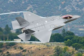 Submitted photo##The US Air Force F-35 Lightning II will be piloted by Capt. Andrew  Dojo  Olson during the Oregon International Air Show.