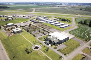 McMinnville Economic Development Partnership photo##Former Evergreen International Aviation campus in McMinnville.