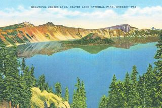 "##This postcard was mailed from Medford to El Dorado, Arkansas, postmarked Dec. 19, 1945. ""Dearest Aunt,"" it reads. ""At last I've gotten to see Crater Lake, and it's certainly a beautiful thing ... Love, Jimmy."" This introduces a delicious mystery: Crater Lake is inaccessible in December."