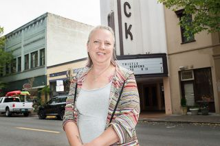 Rusty Rae/News-Register##Lisa McCracken says running for city council is a  continuation of service  to the community.