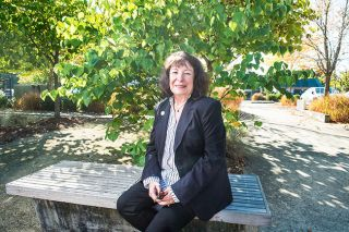 Rusty Rae/News-Register##Kellie Menke is seeking a fifth term on the McMinnville City Council.