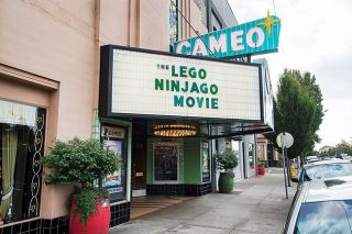 Marcus Larson/News-Register##The Cameo Theatre has been a fixture of downtown Newberg since 1937. Owner Brian Francis' grandfather, Ted, bought it in 1939 and continued showing movies until his death in 1999.