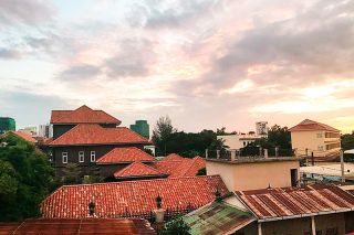 Submitted photo##A view of a neighborhood in Phnom Penh, Cambodia where Camilla Sumner lived during a gap year spent teaching and traveling abroad.