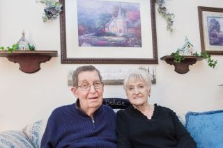 Marcus Larson/News-Register##Bob and Sarah Marquis say they have loved their 35 years in Carlton. They moved to town when he became minister at the Carlton Assembly of God Church, from which they recently retired.