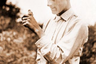 "Oregon State University Archives##This photo of William L. Finley appeared in his book ""American Birds,"" published in 1907."