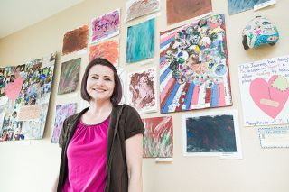 "Marcus Larson/News-Register##McMinnville's Anita Sterrett created numerous art pieces as part of her healing process in the 12-week ""Phoenix Project."" Now she wants to help others."