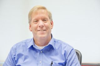 Marcus Larson / News-Register##John Dietz is looking forward to being busy at Water & Light manager.